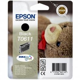 Tinteiro Epson T0611 Preto