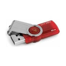 Kingston Data Traveler 101 8GB - Vermelho