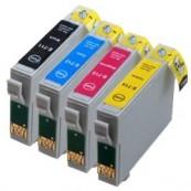 Tinteiro Compatível Epson T0711/2/3/4 - PACK 4
